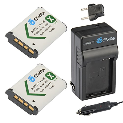 Dual Battery Charger for Sony NP-BX1 DSC RX100 II III RX1R RX100M2 RX100M3 HX80