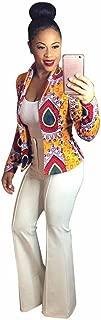Ladies Thin Coat,KIKOY Fashion African Print Dashiki Short Casual Jacket Sale