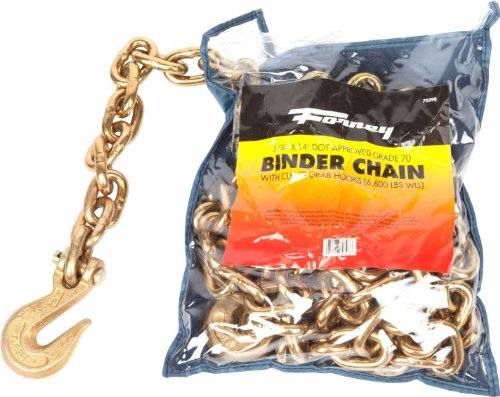 Forney 70398 Binder Chain, 3/8-Inch-by-14-Feet