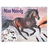 Depesche 11458 Miss Melody - Malbuch mit 36 traumhaften Pferde-Motive zum...