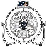 GPWDSN Ventilador Industrial, De Acero Inoxidable a 120 °; Moviendo La Cabeza Tumbado En Gran Ventilador De Refrigeración Verano Viento