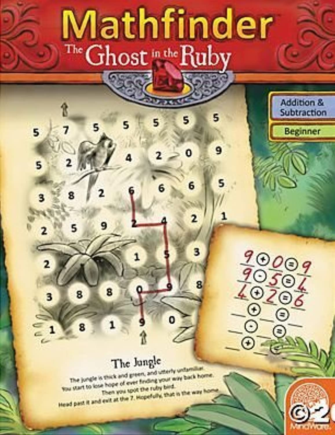 El ultimo 2018 Math Finders  The Ghost Ghost Ghost and The Ruby Juego by MindWare  venta con descuento