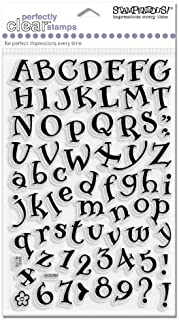 Stampendous SSC007 Perfectly Clear Polymer Stamps, Storybook Alphabet