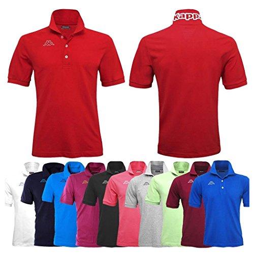 Polo Kappa Hombre Piquet Mar Sport Tenis Fútbol Camiseta Life MSS 302S1U0 F91 Green DK-BEIGE, verde DK-BEIGE, XL