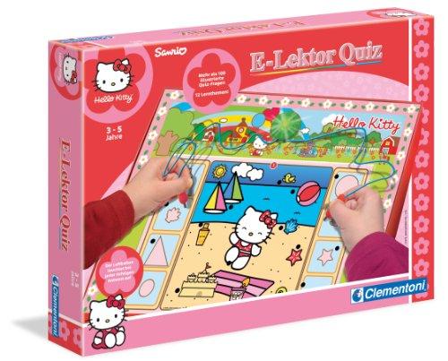 Clementoni - Juego educativo Hello Kitty, para 1 jugador (importado)