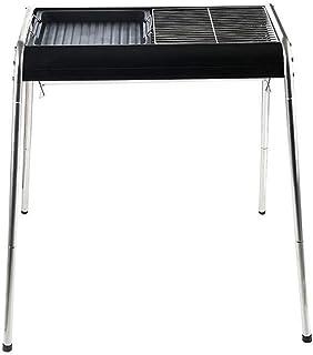 PLEASUR Estante de Barbacoa de carbón sin Humo al Aire Libre, Horno de aleación de Aluminio Plegable portátil Plegable para el hogar, 64 & Times; 35 y Veces; 81cm