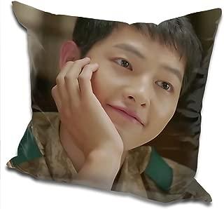 Z&T Descendants of The Sun Song Joong-ki Throw Pillow 40cm40cm (Color 1)