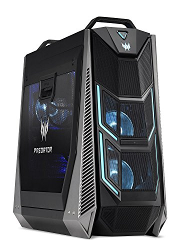 Acer Predator Orion 9000 PO9-600-I7KDCE1080Ti Desktop, Intel i7-8700K 6-Core (Up to 4.7 GHz), NVIDIA Geforce GTX 1080 Ti 11GB, 16GB DDR4 RAM, 256GB SSD, 2TB HDD, Ice Tunnel Cooling, Win 10, VR Ready