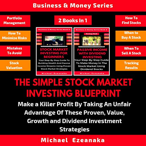 Couverture de The Simple Stock Market Investing Blueprint, 2 Books in 1