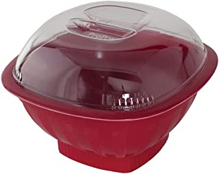 Nordic Ware Microwave Popcorn Popper 16 Cup Red 60135