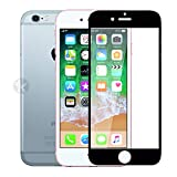 Kreatick Screen Protector Compatible with Apple iPhone 6 (Black) Edge to Edge Full
