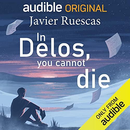 Diseño de la portada del título In Delos, You Cannot Die