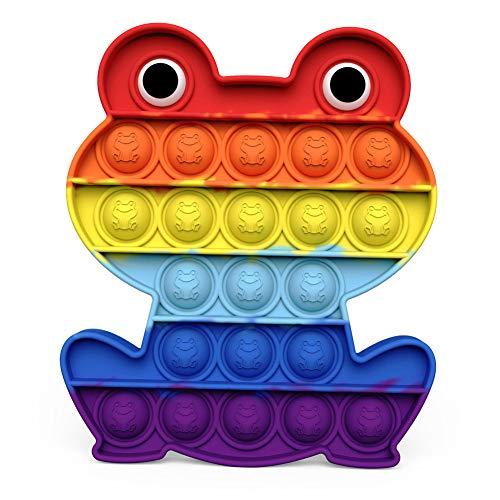 Push Pop It Bubble Sensory Fidget Juguete para niños adultos, autismo necesidades especiales para aliviar el estrés y la ansiedad juguetes