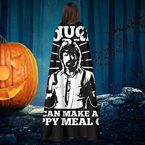 Not Applicable Manto De Bruja,Chuck Norris Puede Hacer Un Grito De Comida Feliz Disfraces De Bruja Cmodos Y Suaves para La Fiesta De Navidad De Halloween 40x150cm
