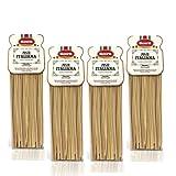 Livera Linguine 4 X 500 Gr, Pasta Largas de Sémola de Trigo Duro 100% Made in Italy, Ling...