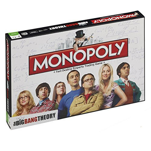 Winning Moves- Monopoly The Big Bang Theory - 036566 (Italienische Fassung)