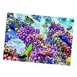 joyMerit 1 Piezas 3D PVC Acuario Pecera Submarina Telón de Fondo Imagen Decoración 3 Tamaños - g