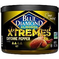 Blue Diamond Xtreme Favored Almonds (6oz, Cayenne Pepper)