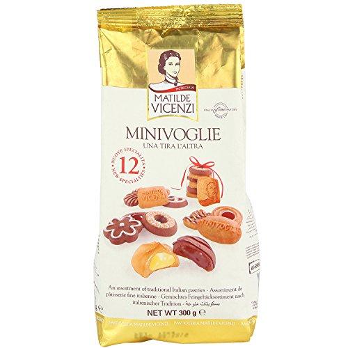 Matilde Vicenzi MilleVoglie - Italienische Gebäckmischung mit und ohne Schokolade - Großpackung aus Keksen und Gebäck Beutel, 300 g