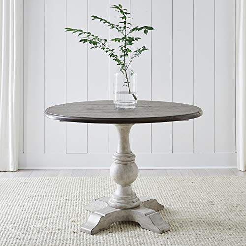 Liberty Furniture Industries Cottage Lane Drop Leaf Table, W42 x D42 x H30, Antique White
