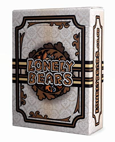 Lonely Bears Strategy Card Game for 2-4 players Original Deck (68 cards and...