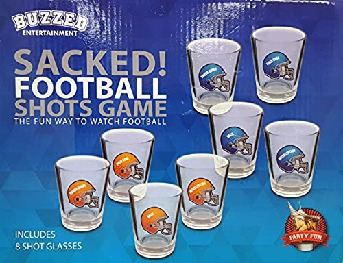 Buzzed Entertainment - Sacked  Football Shots Game by Buzzed Entertainment