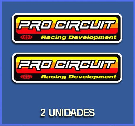 Dp667 Aufkleber Autocollants Adesivi Moto Decals Motrocycle 5 cm Ecoshirt I8-WAXQ-AF3C Stickers Pro Circuit Team Ref