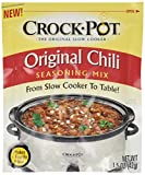 Crock Pot Original Chili Seasoning Mix (1.5 oz Packets) 3 Pack