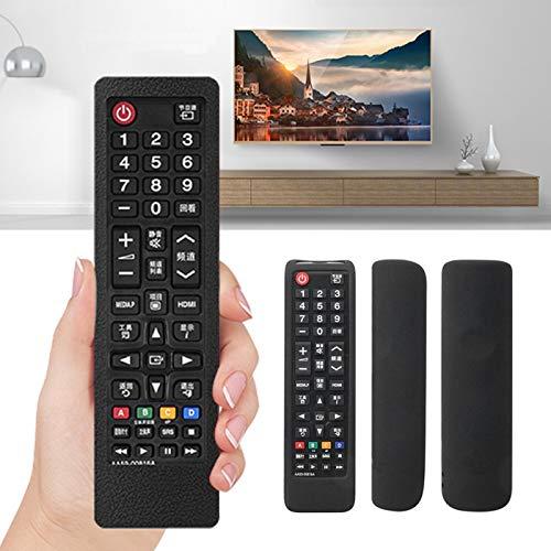 Kuuleyn Funda Protectora, Funda Protectora de Silicona para Control Remoto de TV para Samsung Aa59-00816a 00813a 00611a 752a con un cordón Ajustable Que se Puede Ajustar a una Longitud de 170 mm