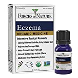 Forces of Nature – Natural, Organic Eczema Care (11ml) Non GMO, No Harmful Chemicals or Steroids –Relieve Dry, Itchy, Red, Irritated Skin while Soothing, Restoring Skin