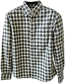 [SWEEP!! スウィープ!!] メンズ タータンチェック柄 コットンツイル ボタンダウンシャツ TWILL TARTAN SWSDTWTN WHITE(ホワイト)