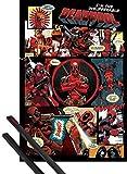 1art1 Deadpool Poster (91x61 cm) Outta This Way, Nerd.