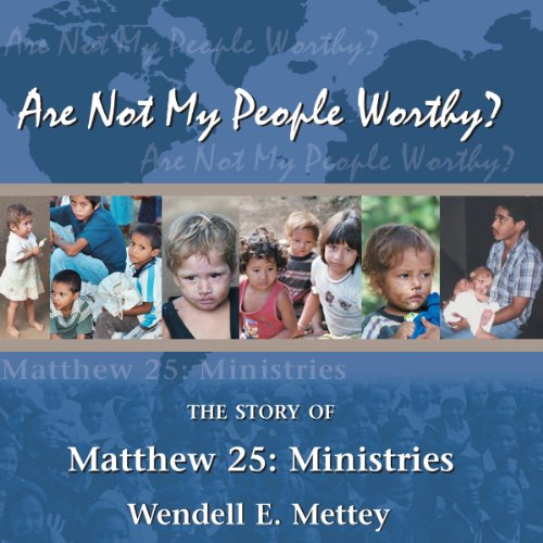 Are Not My People Worthy audiobook cover art