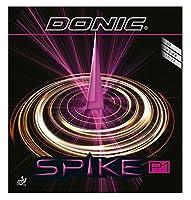 DONIC(ドニック) 卓球 スパイク P1 粒高ラバー レッド 0.3 AL073