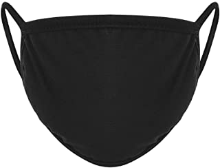 JIEXINXIN Outdoor Riding Bandana Reusable Anti Dust 5 Pieces Black Unisex Cotton Snood Elastic Anime for Bike Cycling Camp