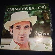 Grandes Exitos En Español Por Charles Aznavour (Barclay // Vinyl)