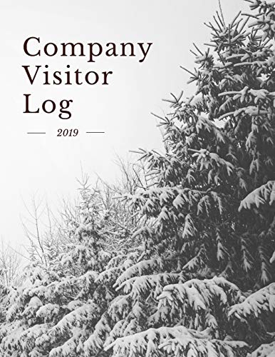 Company Visitor Log: Business Sign In/Out Register [With Name, Phone Number/Email, Pass Number, Company Represented, Signature Columns and more!] | ... Makes Tracking Office Guests Easy and Smooth