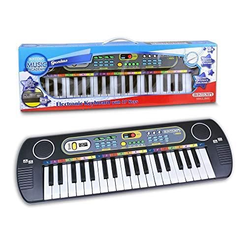Bontempi Bontempi123780 Elektronik-Keyboard, Mehrfarben, 54.6 x 5.1 x 17 cm