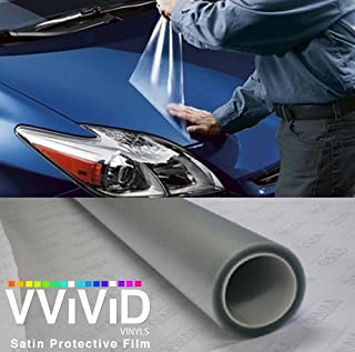 VViViD Paint Protection Film Clear Vinyl Gloss Self Healing Wrap Guard (120 Inch x 54 Inch)