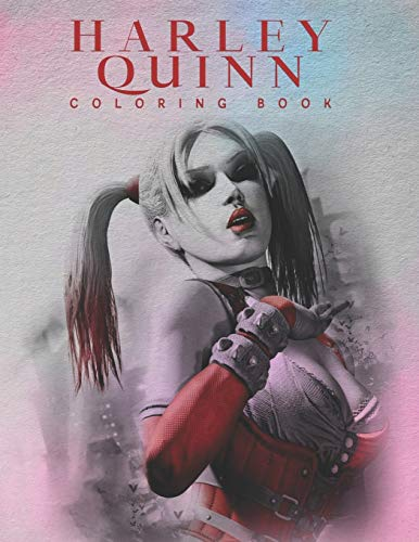 51OUAgX7lRL Harley Quinn Coloring Books