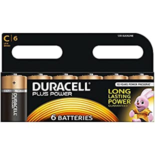Customer reviews Duracell C Plus Battery (Pack of 6)
