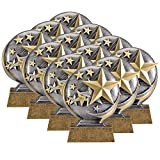 On Top Awards - Stars Motion Extreme 3D Resin Trophy - Star Student Award - 5' Tall (Pack of 1)