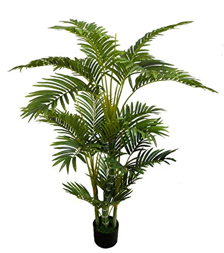 Arekapalme Deluxe 130cm DA Kunstpalmen künstliche Palmen Arecapalme Dekopalme