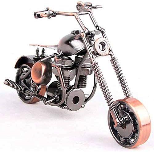 JINGPINPUZI Retro Metal Limited time cheap sale Motorcycle Mo modelhome Memphis Mall Decor