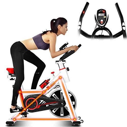 JHSHENGSHI Bicicleta giratoria para Interiores, Bicicleta es