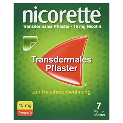 NICORETTE TX Pflaster 15 mg 7 St Pflaster transdermal