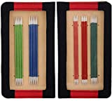 Knit Pro 15 cm Aluminio Zing de Tejer de Doble Punta para Juego de, Multi-Color