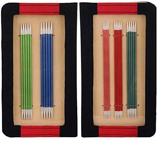 KnitPro Stricknadel Double Ended: Set: 15cm, Metal, 150