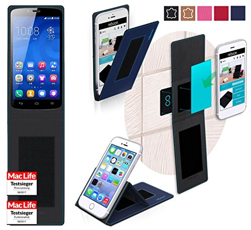 Hülle für Huawei Honor 3C Play Tasche Cover Hülle Bumper | Blau | Testsieger