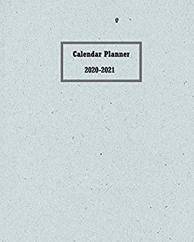 Calendar Planner 2020 – 2021  Two Years Planner with Password List Birthdays Notes and Monthly Planner for Organizer Agenda Schedule Notebook Journal and Business